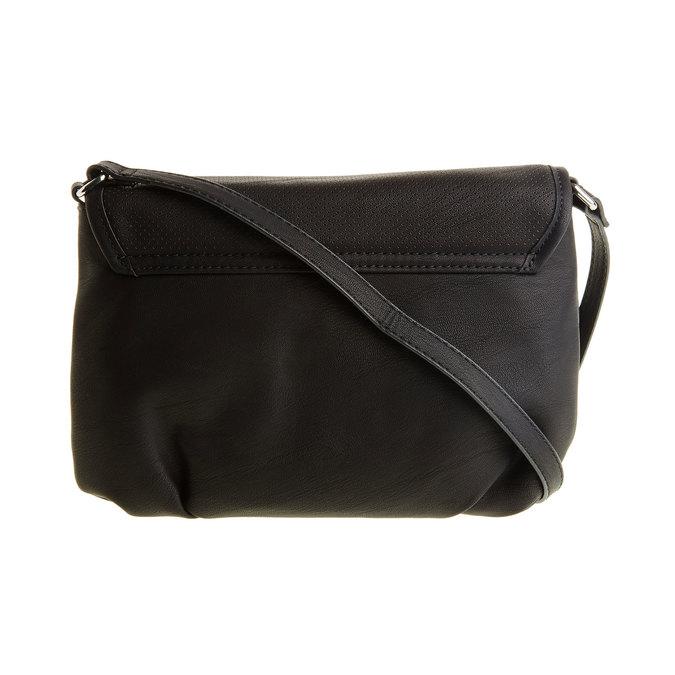 Crossbody kabelka so strapcom bata, čierna, 961-6759 - 26