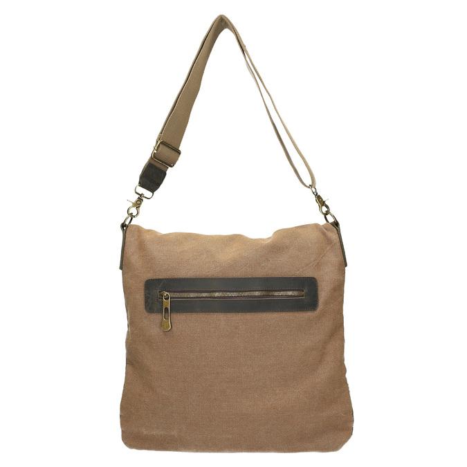 Priestorná Crossbody taška weinbrenner, hnedá, 969-8616 - 26