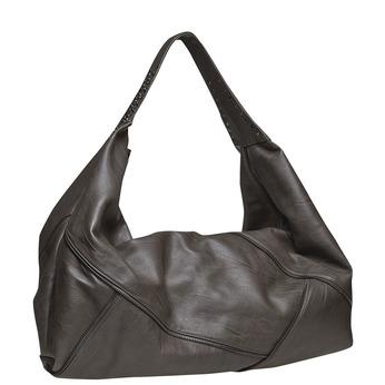 Dámská kabelka s kovovými detailami bata, šedá, 961-2231 - 13