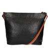 Kožená Crossbody kabelka weinbrenner, čierna, 964-6201 - 19