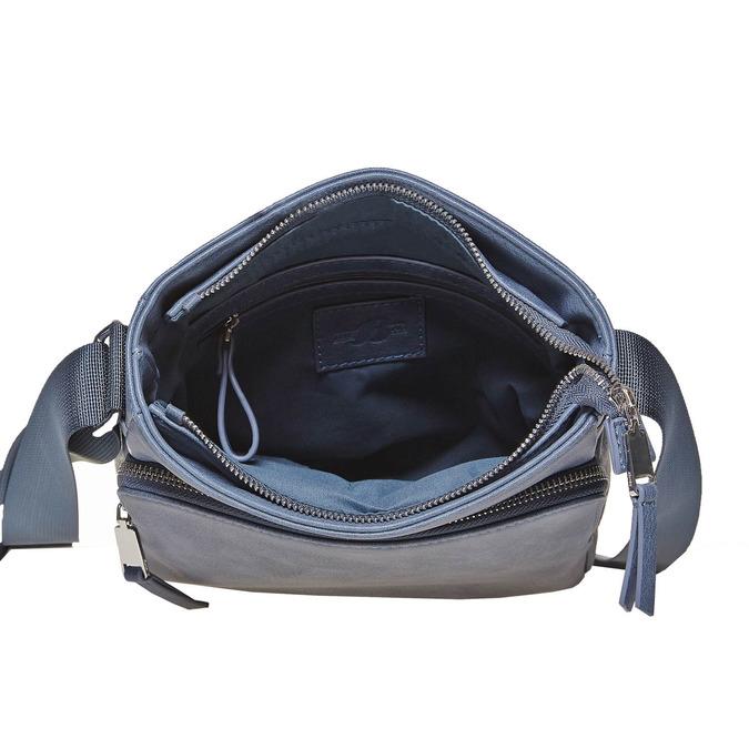 Pánska Crossbody taška bata, modrá, 961-9783 - 15