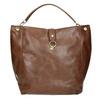 Hnedá kabelka v Hobo štýle bata, hnedá, 961-3808 - 19