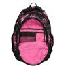 Dievčenský školský batoh s bodkami bagmaster, ružová, 969-5601 - 15