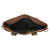 Textilná kabelka s popruhom weinbrenner, hnedá, 969-3621 - 15