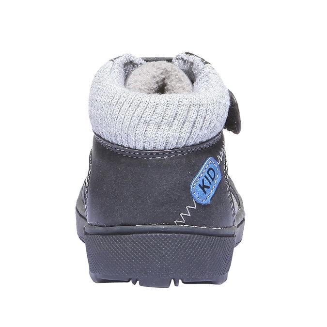 Detská obuv mini-b, šedá, 111-2101 - 26