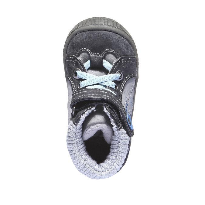 Detská obuv mini-b, šedá, 111-2101 - 19