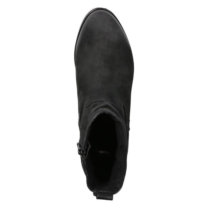 Dámska členková obuv bata, čierna, 796-6600 - 19