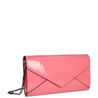 Ružová listová kabelka bata, ružová, 961-5624 - 13