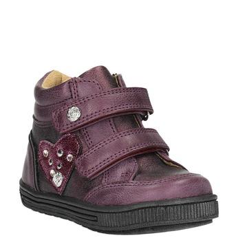Detská členková obuv bubblegummer, fialová, 121-9610 - 13