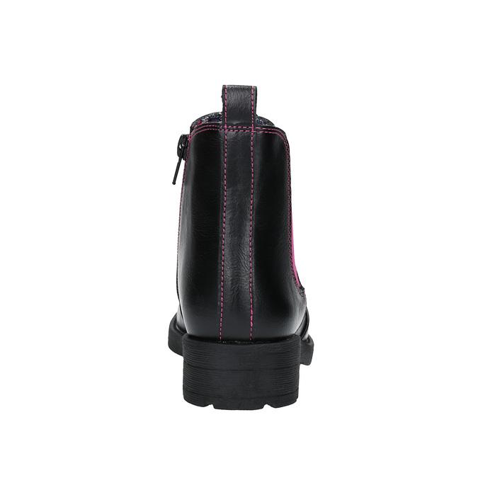 Detské Chelsea Boots mini-b, čierna, 321-5602 - 17