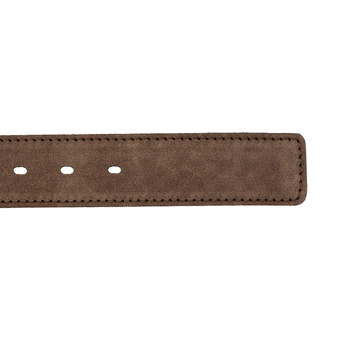 Opasok z brúsenej kože bata, hnedá, 953-3106 - 16