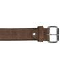 Opasok z brúsenej kože bata, hnedá, 953-3106 - 26