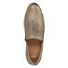 Kožené Slip-on na širokej podrážke bata, hnedá, 526-4605 - 19
