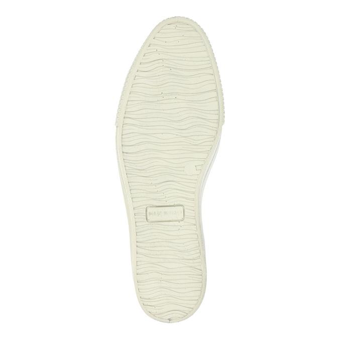 Kožená členková obuv na širokej podrážke bata, šedá, 596-2626 - 26