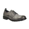 Pánske kožené poltopánky v ležérnom dizajne bata, šedá, 826-2732 - 13