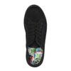 Čierne tenisky so širokou podrážkou bata, čierna, 529-6630 - 19