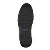 Ležérne kožené poltopánky čierne bata, čierna, 826-6652 - 26