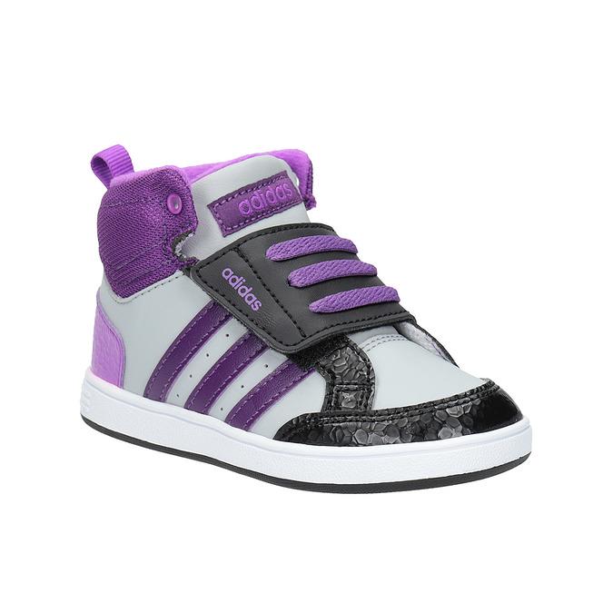 Detské členkové tenisky adidas, šedá, 101-2231 - 13
