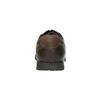 Ležérne kožené poltopánky bata, hnedá, 826-4652 - 17