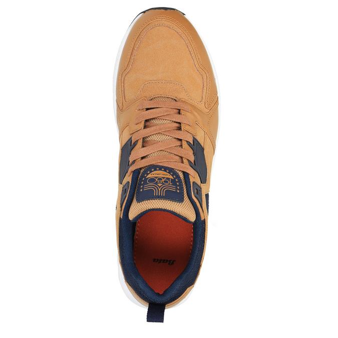 Tenisky na výraznej podrážke bata, hnedá, 841-3603 - 19