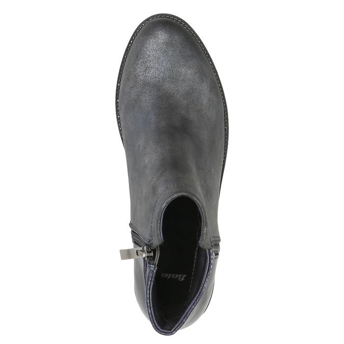 Dámska členková obuv bata, šedá, 591-2615 - 19