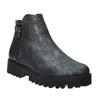 Dámska členková obuv bata, šedá, 591-2615 - 13