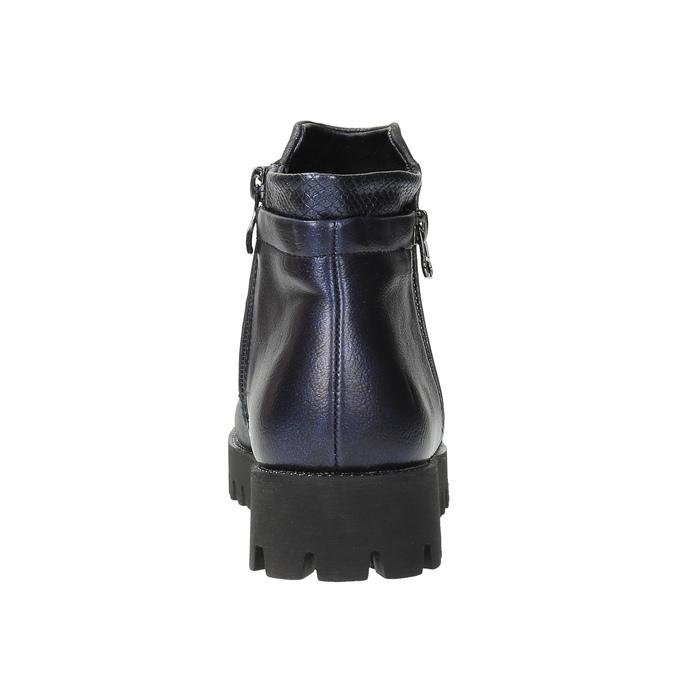 Dámska členková obuv bata, šedá, 591-2615 - 17