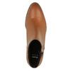 Kožená členková obuv so zipsom bata, hnedá, 594-3518 - 19