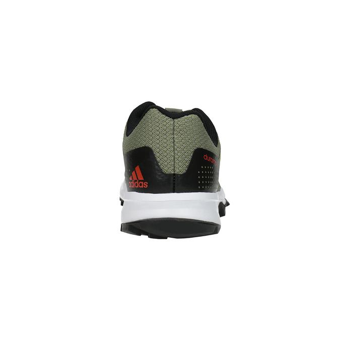 Pánske bežecké tenisky adidas, zelená, 809-7190 - 17