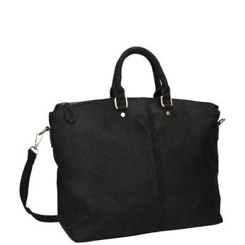 Čierna dámska kabelka bata, čierna, 969-6622 - 13