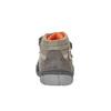 Detská členková obuv na suchý zips mini-b, šedá, 211-2605 - 17