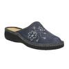 Domáce papuče s výšivkou bata, šedá, 579-2280 - 13
