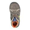 Detská členková obuv na suchý zips mini-b, šedá, 211-2605 - 19