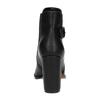 Členková obuv na podpätku s prackou bata, čierna, 791-6610 - 17