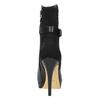 Kožené členkové čižmy na ihličkovom podpätku bata, čierna, 794-6630 - 17
