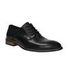Ležérne kožené poltopánky bata, čierna, 824-6678 - 13