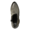Kožené členkové čižmy na platforme bata, 796-4633 - 19
