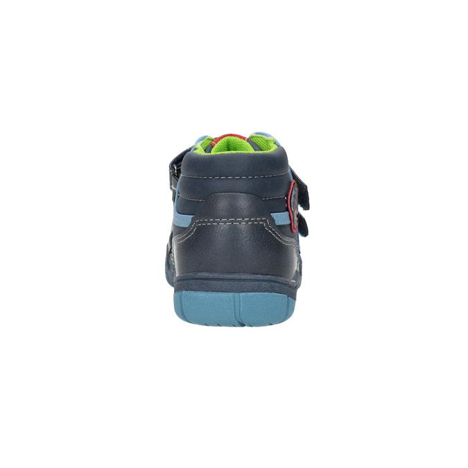 Detská členková obuv mini-b, modrá, 211-9605 - 17