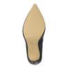 Lodičky s pružným lemom bata, čierna, 721-6600 - 26