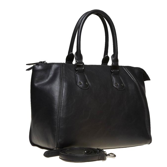 Elegantná dámska kabelka bata, čierna, 961-6666 - 13