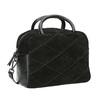Malá kožená kabelka s popruhom bata, čierna, 963-6133 - 13