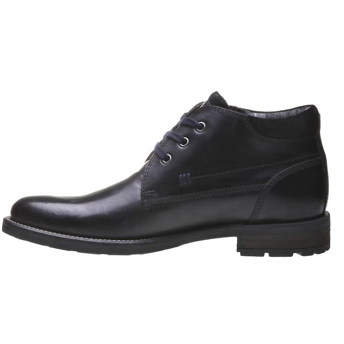 Členková obuv bata, čierna, 894-6661 - 15