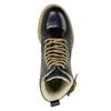 Kožená členková obuv na priehladnej podrážke weinbrenner, čierna, 598-6602 - 19