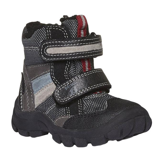 Detská obuv mini-b, šedá, 199-2102 - 13