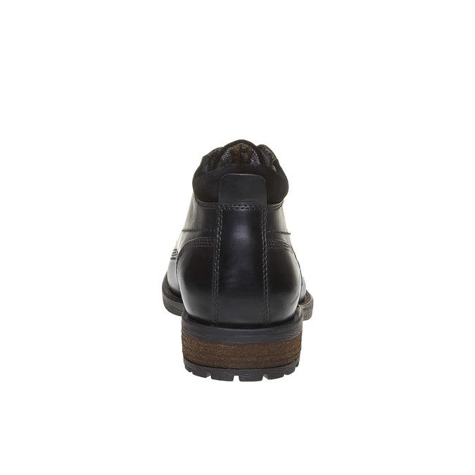 Členková obuv bata, čierna, 894-6661 - 17