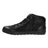 Kožená členková obuv pánska bata, čierna, 846-6602 - 26