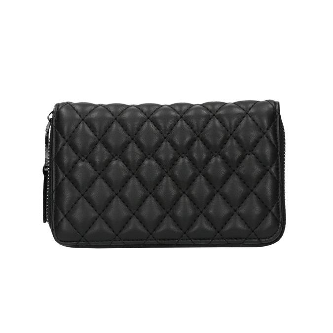 Dámska prešívaná peňaženka bata, čierna, 941-6135 - 19