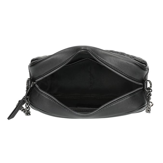 Dámska Crossbody kabelka s prešívaním bata, čierna, 961-6158 - 15