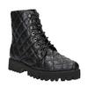 Dámska členková obuv bata, čierna, 591-6614 - 13