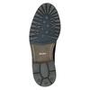 Členková kožená obuv bata, modrá, 893-9651 - 26